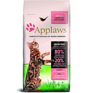 Applaws Natural Huhn und Lachs Katzen Trockenfutter